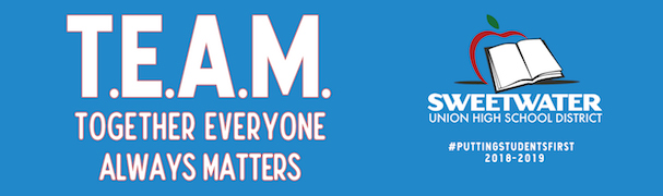 T.E.A.M. Together Everyone Always Matters